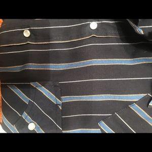 2 western Perl Button Down XL Tall Shirts